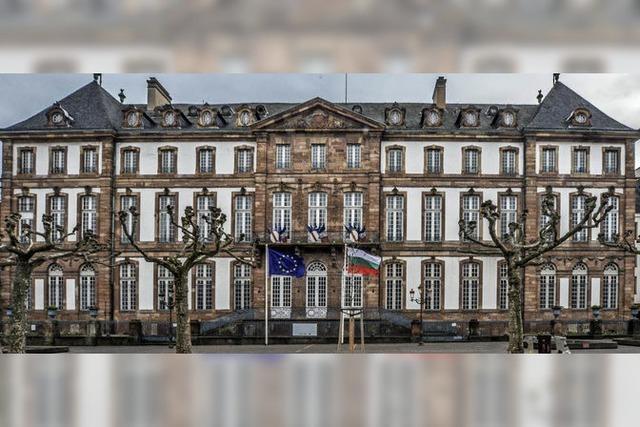 Das Straßburger Rathaus ist nicht ganz dicht