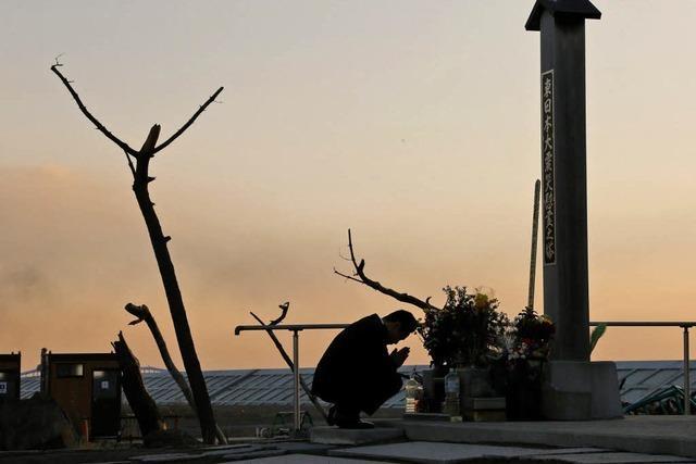 Gedenken an Erdbeben und Tsunami in Japan
