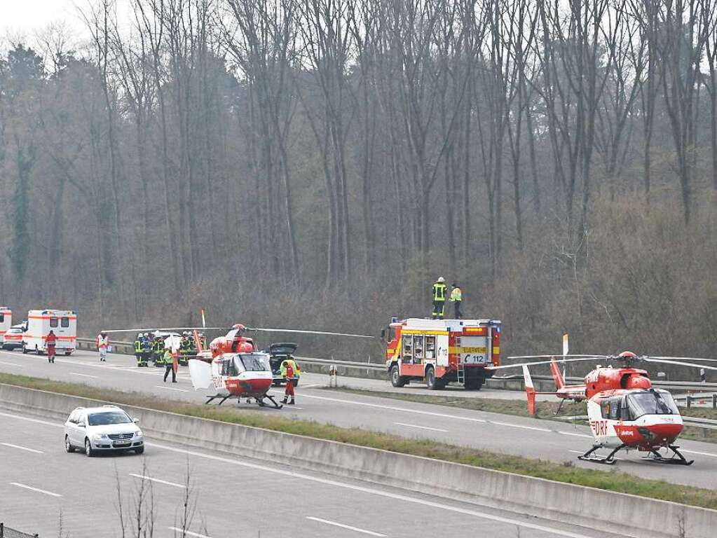 Unfall A5 Lahr