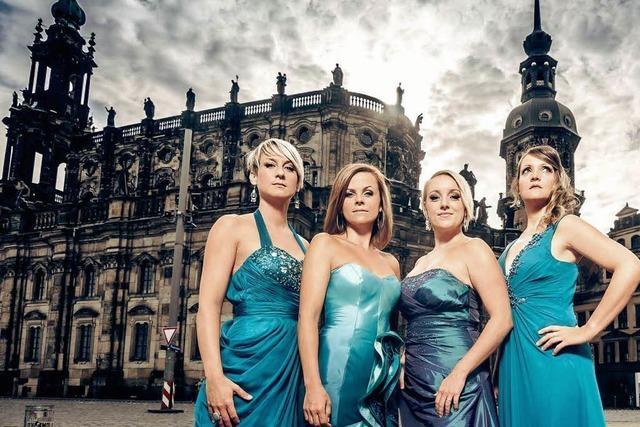 Medlz, A-cappella-Frauen aus Dresden, in Waldshut-Tiengen