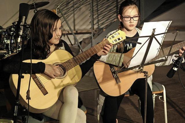Schüler präsentieren ihre musische Bandbreite