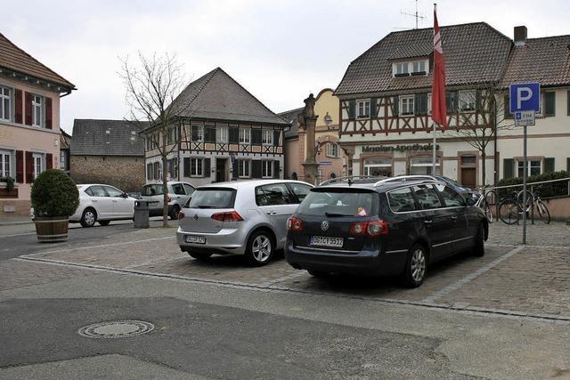 Tankstelle und Marienplatz