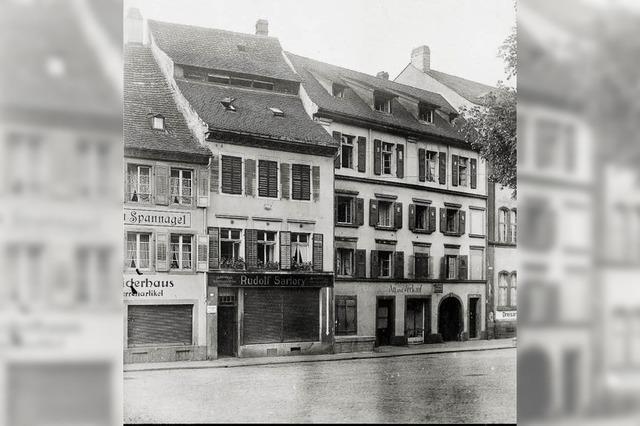 """Vor 30 Jahren wurde das Haus """"Zum unteren Pflug"""" in alten Abmessungen neu gebaut"""