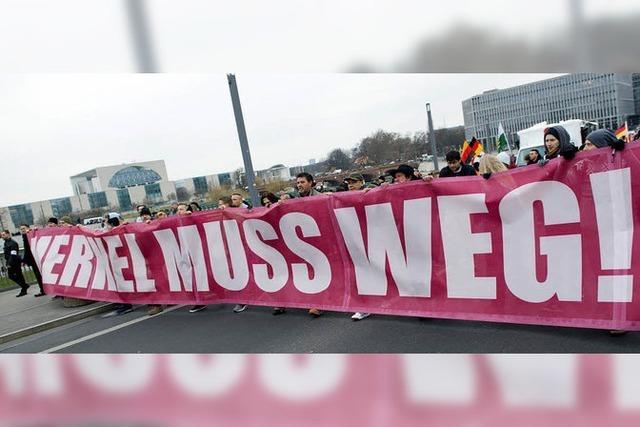 Rechtsextreme ziehen durch Berlin