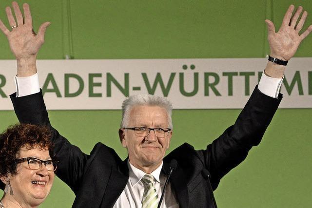 Stimmen der Spitzenkandidaten zur Landtagswahl