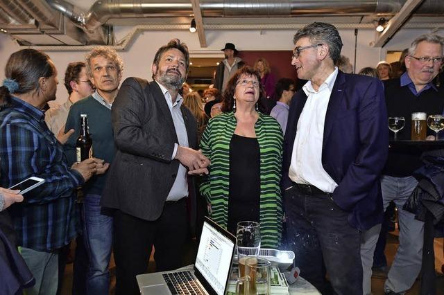In Freiburgs Wahlkreisen verteidigen die Grünen ihre Mandate