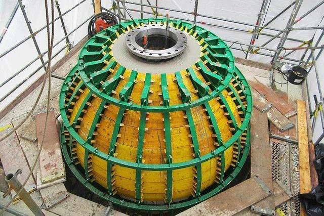Test: Kommt Strom aus Betonkugel im Bodensee?
