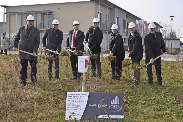 Bald startet der Bau der neuen Wohnanlage für Senioren