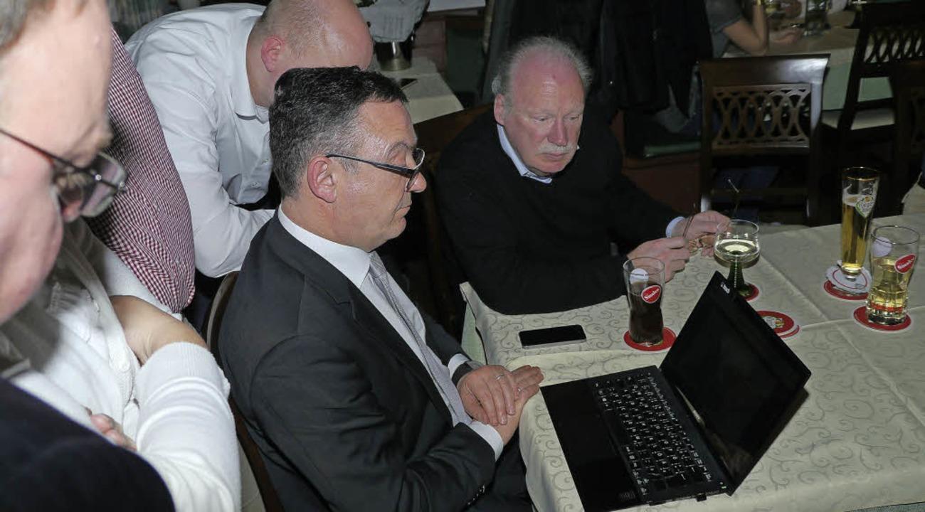 CDU-Politiker Marcel Schwehr in Endingen  | Foto: Christel Hülter-Hassler