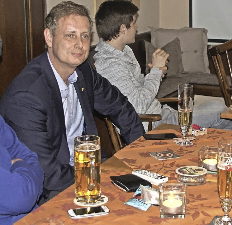 FDP-Kandidat Schuster   | Foto: Ilona Hüge