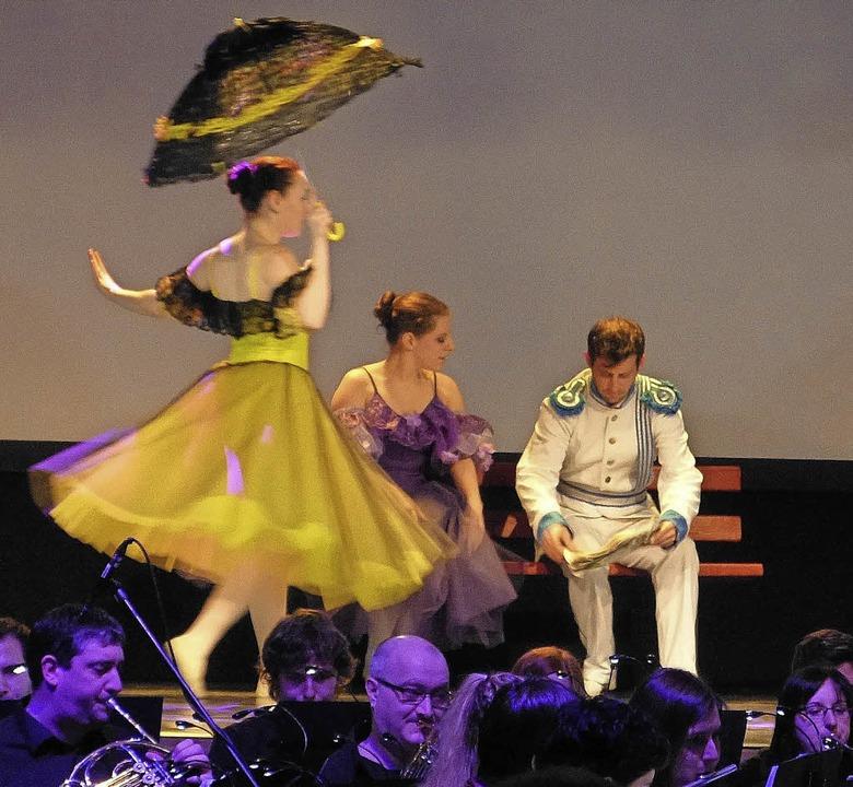 Konzert Grandioso Winzerkapelle KöndringenElztäler Ballettverein Oberwinden  | Foto: Aribert Rüssel
