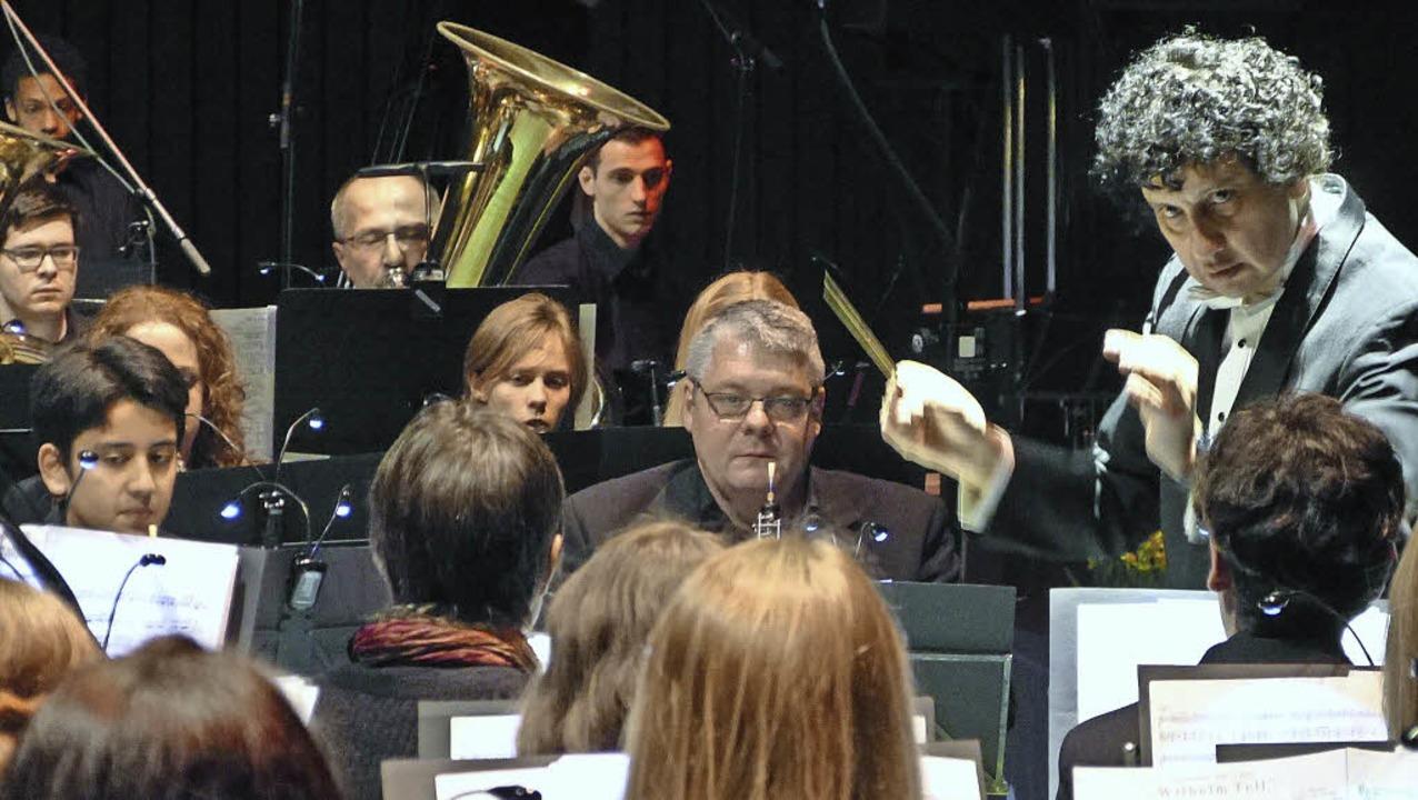 Konzert Grandioso Winzerkapelle Köndringen  | Foto: Aribert Rüssel
