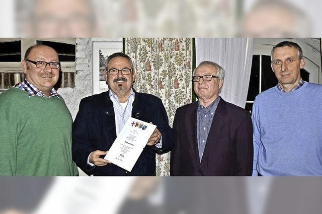 Arno Umhauer führt den MGV kommissarisch