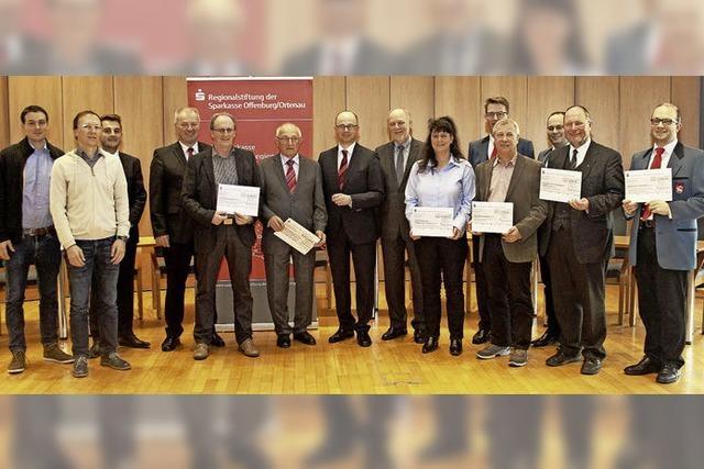 Die Regionalstiftung schüttet 45 500 Euro aus