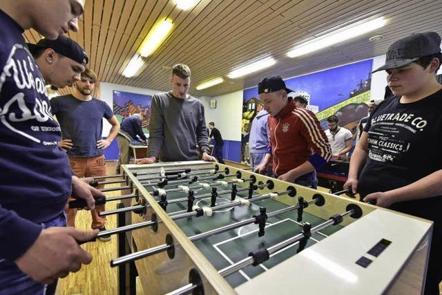 Turnier in Tischtennis, Billard und Tischkicker