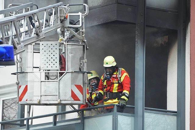 Wohnungsbrand bei der Städtischen