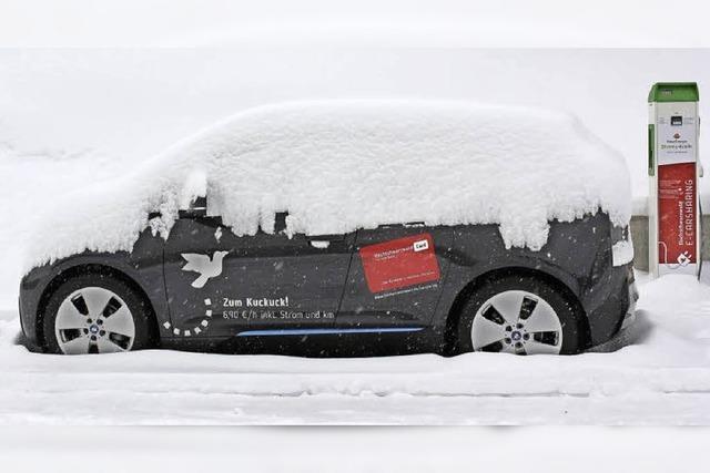 Carsharing-Elektroauto steht seit neun Monaten ungenutzt herum