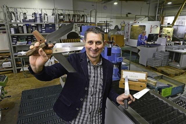 Die Freiburger Firma Cutec entwickelt und vermarktet Luxusmesser
