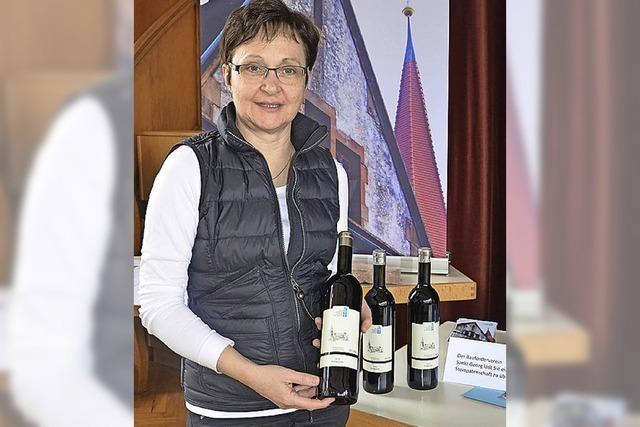 Bauförderverein verkauft Steine und Wein