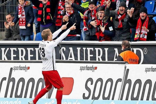 Torjäger Petersen will nicht Joker sein – aber klagen auch nicht