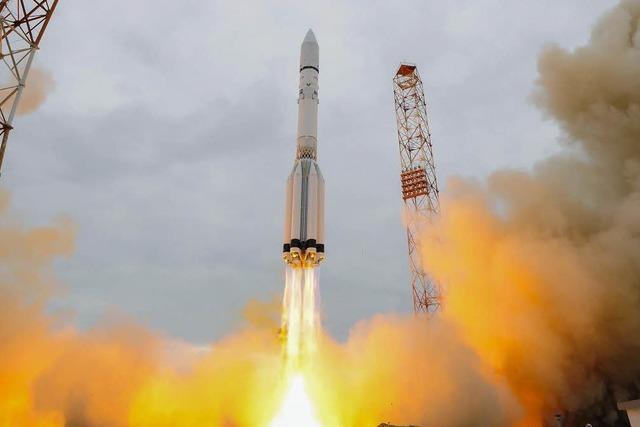 Russisch-europäische Rakete startet Richtung Mars
