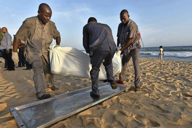 Deutsche stirbt bei Terror in der Elfenbeinküste