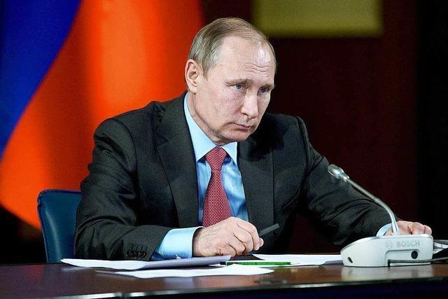 Putin verkündet Abzug der russischen Truppen aus Syrien