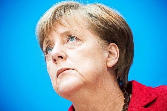 Abgrenzung von der AfD: Angela Merkel hält ihren Kurs