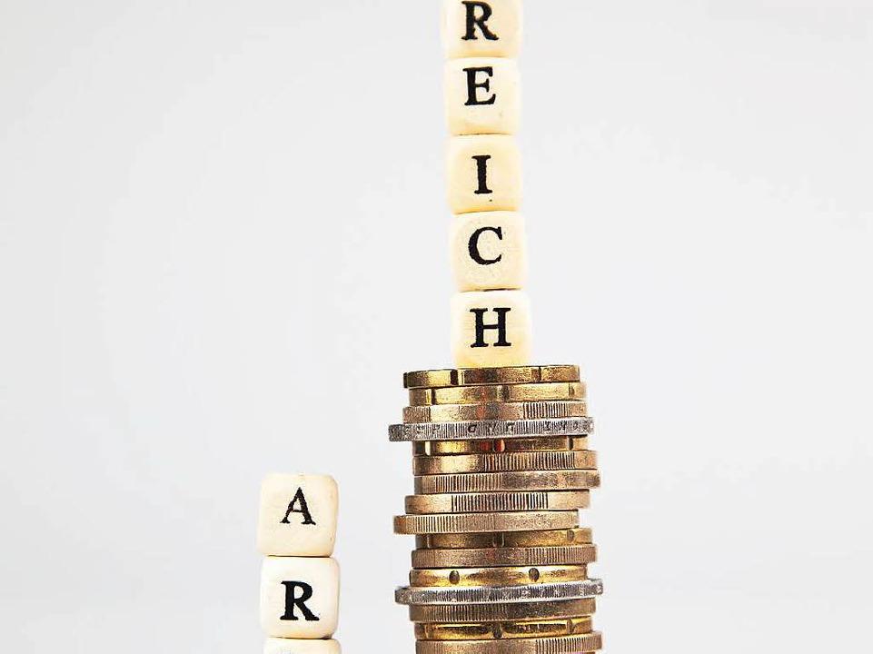 Ein ziemlicher Unterschied zwischen arm und reich...  | Foto: macgyverhh - Fotolia