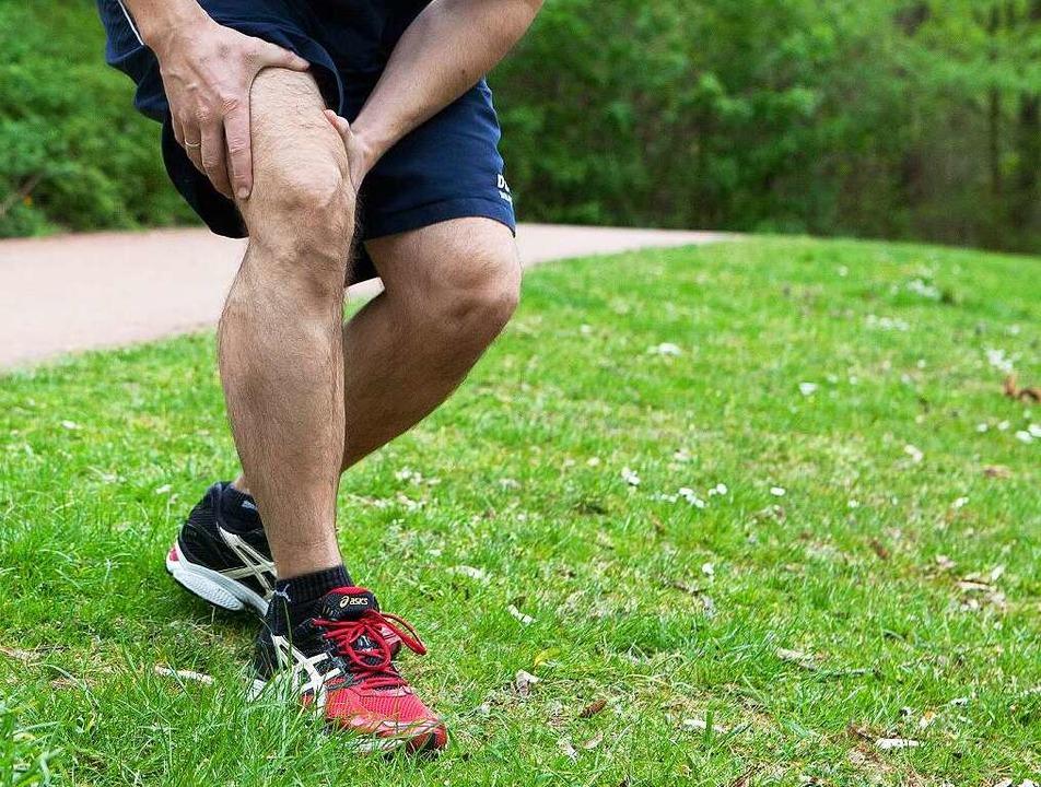 Das war zu viel: Anfänger sollen ihr  Sportpensum langsam steigern.  | Foto: Silvia Marks