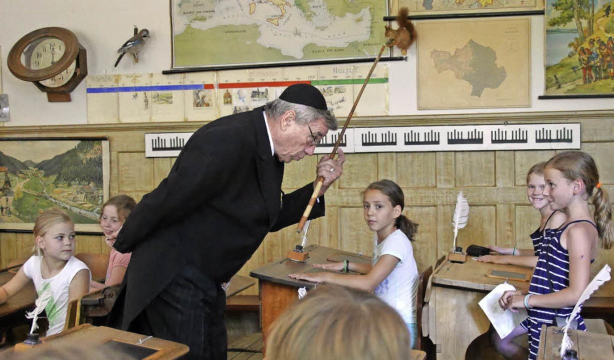 Alte Lehrer Bestrafung