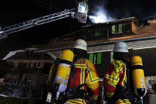 Wohnhausbrand: Opfer hat das Feuer wohl selbst verursacht