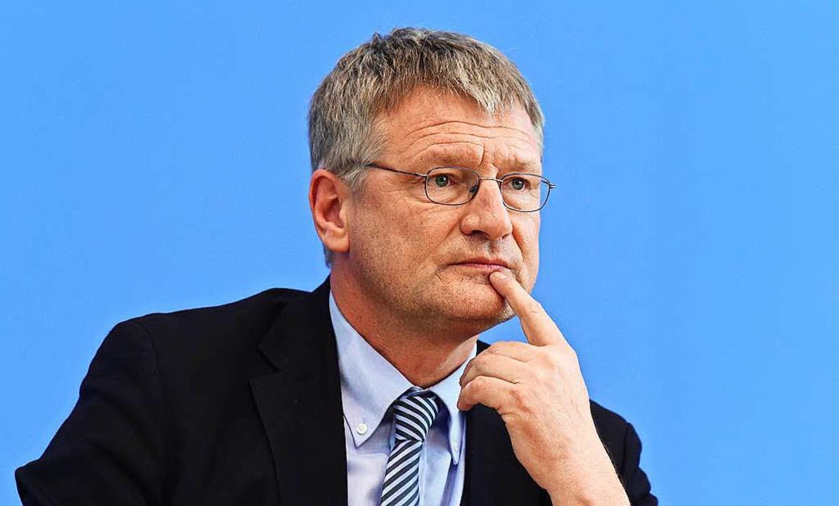 Jörg Meuthen ist neuer Fraktionschef der AfD im baden-württembergischen Landtag.  | Foto: AFP