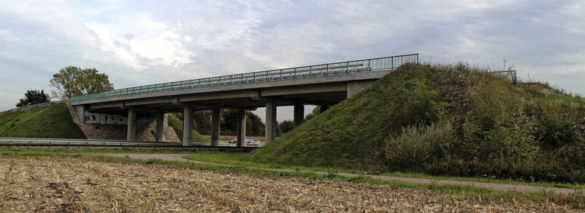 Die B31 West: Momentan endet die  Straßenbrücke im Nichts.     | Foto: Horst David