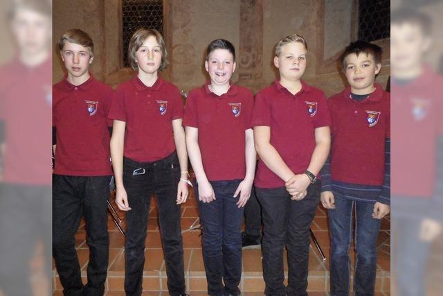 Jungmusiker ausgezeichnet