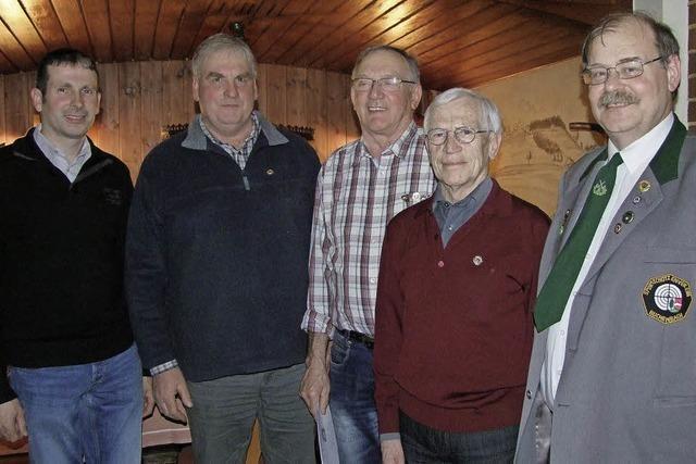 Gerhard Stiegeler und Hermann Zipfel 50 Jahre dabei