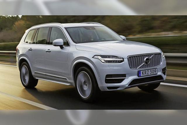 Volvo fährt elektrisch