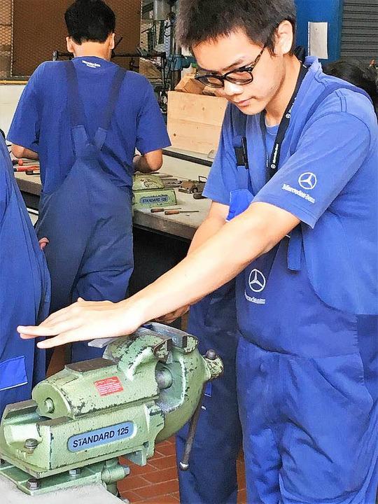 Daimler-Ausbildung in Thailand  | Foto: BKR