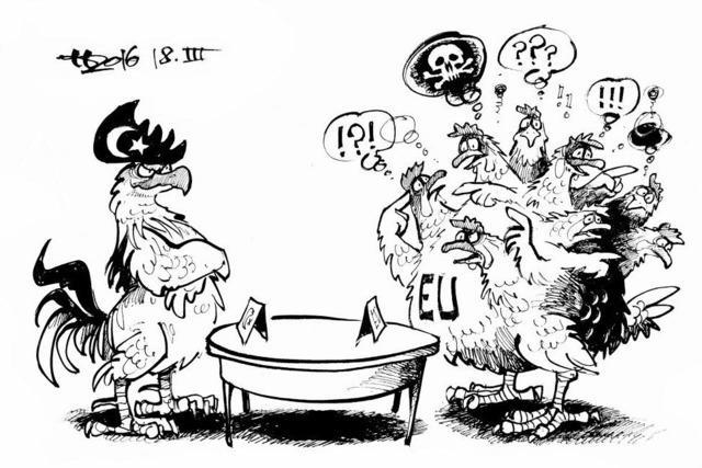 Die EU verhandelt mit der Türkei
