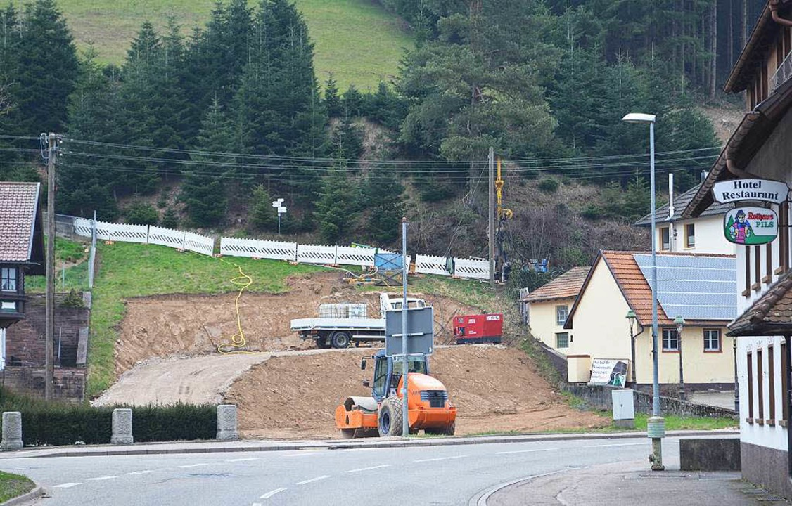 Es hat sich was verändert an der Waldh... den Tunnel am Brand sind  angelaufen.  | Foto: Nikolaus Bayer