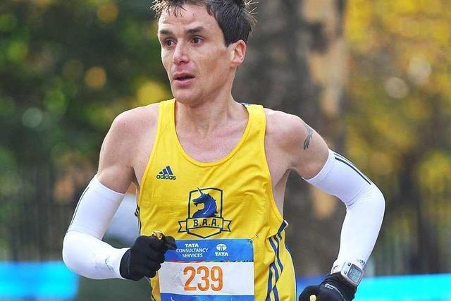 Freiburg-Marathon: Wie ein Siegertyp die Sache angeht