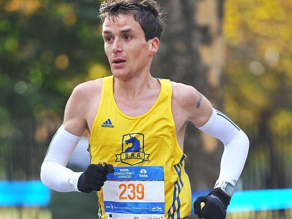 Comeback am 3. April  beim Freiburg-Marathon: Nils Schallner  | Foto: privat