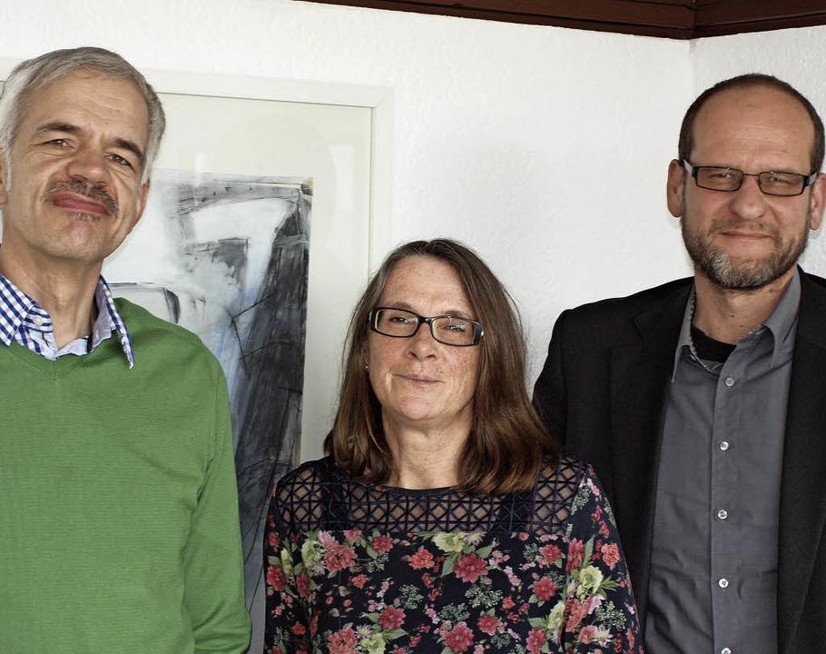 Sie kümmern sich um jugendliche Flücht...ita Frei und Markus Jackl (von links).  | Foto: Michael Haberer