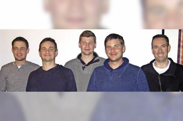 Neue Gesichter im Vorstandsteam