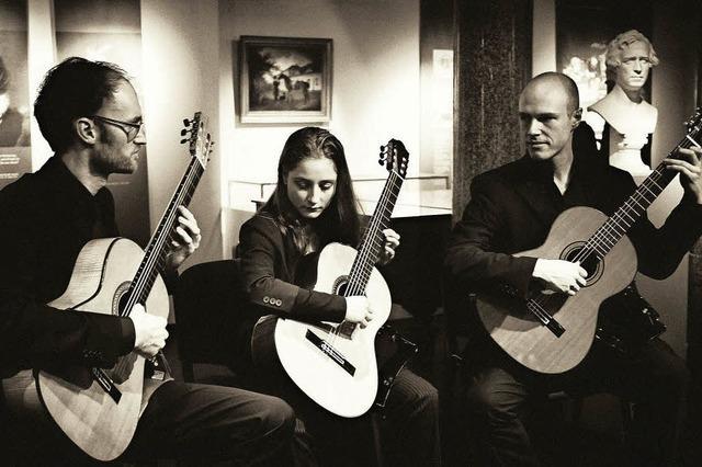 Drei junge Virtuosen bieten Kammermusik zwischen Bach und Jazz in der Stadthalle