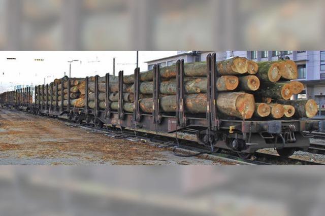 Güter sollen weiterhin auf die Schiene
