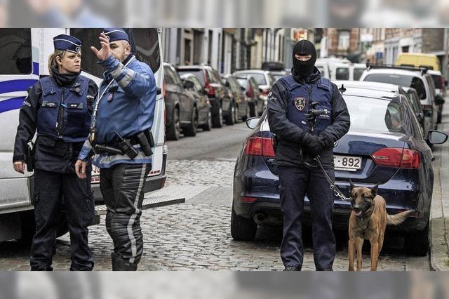 Festnahme in Molenbeek