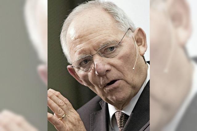Schäuble und Gabriel einigen sich über Haushalt