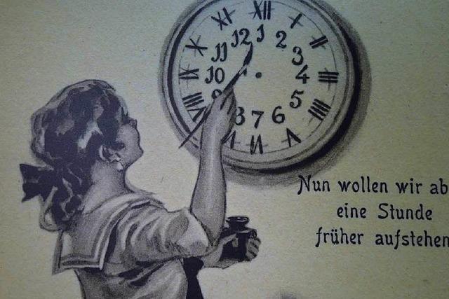 Sonderausstellung im Uhrenmuseum zur Sommerzeit