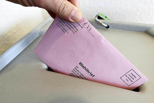 Wer hat in Freiburg welche Partei gewählt?